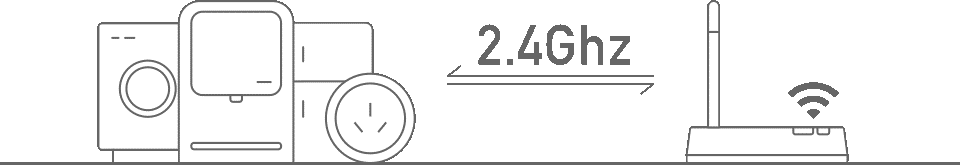 rede é 2.4GHz. Que não haja filtros de conexões e que o SSID não esteja oculto