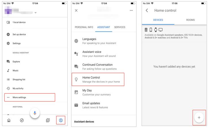 configurar o google home com o aplicativo google home 5