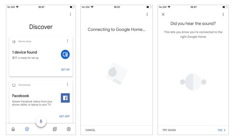 configurar o google home com o aplicativo google home